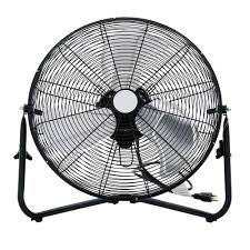 20 Inch Pedestal Fan 20 In 3 Speed High Velocity Floor Fan Sfc1 500b The Home Depot
