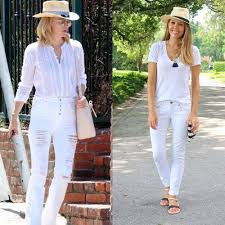 all white casual summer inspiration j s everyday fashion