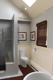 Bathroom Designs With Walk In Shower A Recently Completed Master Bathroom Remodel By Renovisions