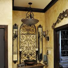more wrought iron wall decor mediterranean style inspiration