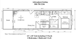 16x40 lofted cabin floor plans homes zone 12 x 40 cabin floor plans search house