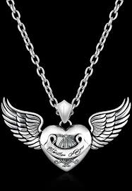 where to buy ed hardy jewelry pendant heart wings ed hardy