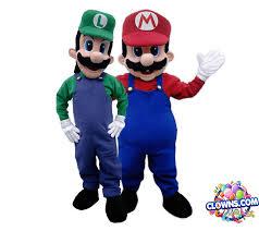 mario brothers characters ny kids birthday party characters