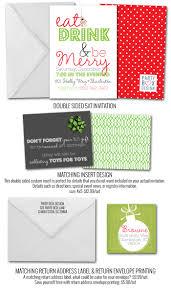 dirty santa party invitations