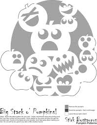 Sugar Skull Pumpkin Carving Patterns by Free Printable Skeleton Scary Halloween Pumpkin Carving Stencils