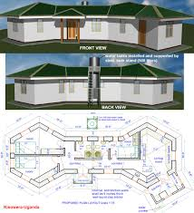 Water View House Plans by Cottage House Plans Home Hobbit House Floor Plans Earthbag House Plans