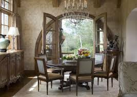 Cozy And Inviting Countrystyle Dining Rooms - Dining room windows