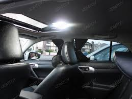 lexus ct200h interior the 2011 lexus ct200h with complete led interior package ijdmtoy