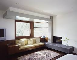 Frank Lloyd Wright Area Rugs Modern Built In Bench Living Room Modern With Oriental Rug