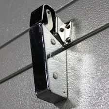 Walk In Cooler Curtains Closer Kason 1095 Spring Action Flush Hook