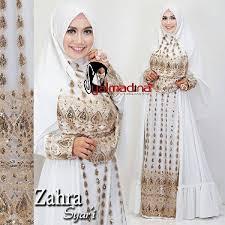 wedding dress syari zahra syar i syalmadina jual busana muslim