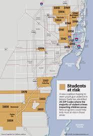 Crime Map Miami by Miami Dade Announces New Initiative To Prevent Gun Violence Based