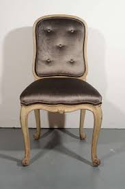 French Provincial Armchair French Provincial Vanity Chair Or Desk Chair In Sable Velvet At