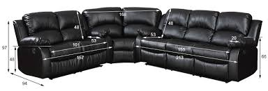 Used Leather Recliner Sofa Zoy Used Bonded Leather Recliner Sofa Set U0026 Single Recliner