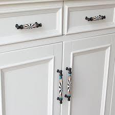 modern kitchen cabinet door knobs 128mm modern ceramic door handles small furniture knobs for kitchen cabinet cupboards closet drawer pull furniture hardware