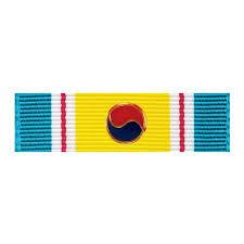 korean service ribbon uss boxer unit awards