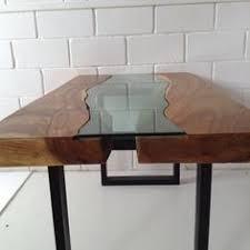 Harvest Kitchen Table by Tree Green Team Live Edge Harvest Table Wood Slab Furniture