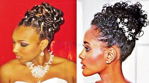 pin up hairstyles wedding for black women youtube