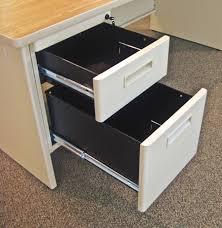 Computer Hutch Desk With Doors by Marvel Prnt4 Pronto Single Pedestal Desk W Flipper Doors And Return