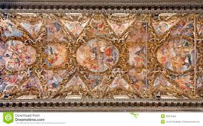Baroque Ceiling by Palermo Fresco From Ceiling In Baroque Church Of San Giuseppe