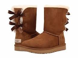 womens ugg bailey boots chestnut s shoes ugg bailey bow ii boot 1016225 chestnut 5 6 7 8 9 10
