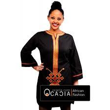 Ocacia Saba Ethiopian Eritrean Womens Top Modern African