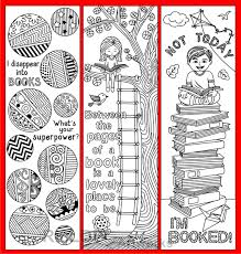 printable bookmarks for readers 8 coloring bookmarks with quotes on books and reading printable