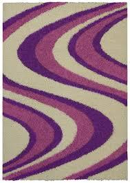 Lilac Rug Amazon Com Soft Shag Area Rug 3x5 Swirl Striped Pink Purple