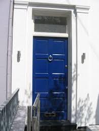 Navy Blue Front Door Blue Door In London Home Sweet Home Pinterest Doors Front