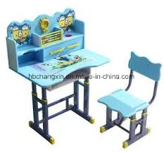 reading table and chair china factory price metal table kid reading table single kid desk