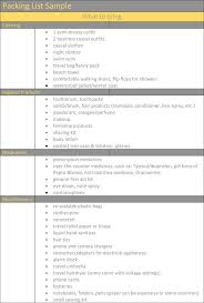 packing list form packing list template u2013 holiday travel packing lists in word u0026 excel