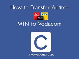 vodacom airtime how to transfer airtime mtn to vodacom youtube