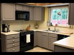 Best Painted Kitchen Cabinets Best Kitchen Cabinet Paint Neat Painted Kitchen Cabinets On Black