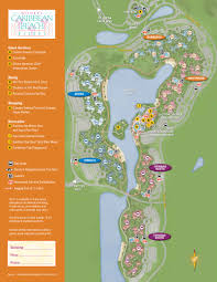 Disney World Hotel Map 2013 Caribbean Beach Resort Guide Map Photo 1 Of 6 Within Disney