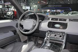 evoque land rover 2014 2014 range rover sport cockpit indian autos blog