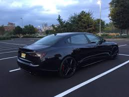 maserati wrapped 2014 gts wrapped in matte black chrome maserati forum