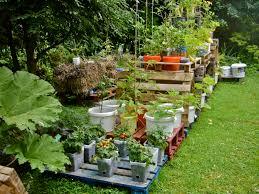 garden pots design ideas vegetable container gardening tips home outdoor decoration