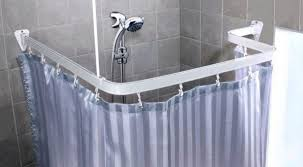 Short Shower Curtain Rods Curtain Curved Shower Curtain Rod Shower Curtain Rods Bathroom