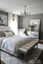 Bedroom Colors And Ideas How To Go Glamorous With Gray In Your Guest Bedroom Neutral