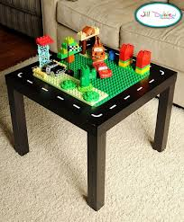 duplo table with storage table5 diy table car table and