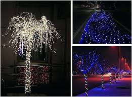 Led Lights For Outdoor Trees How To Decorate Outdoor Trees With Lights I9life Club