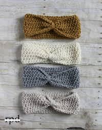 crochet bands mejores 61 imágenes de crochet hair accesories en