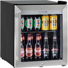 glass door bar fridge triple glazed bar fridge tropical rating led lighting with lock