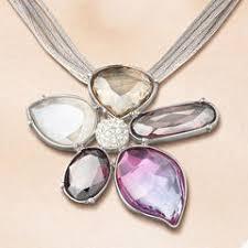 swarovski crystal flower necklace images Swarovski prononciation francais swarovski 1029633 modern flower jpg