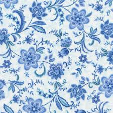 timeless treasures vienna all over floral white from fabricdotcom