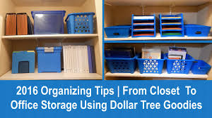 2016 organizing tips from closet to office storage using dollar