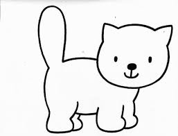 cute cat coloring pages coloringsuite