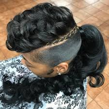 pinup clip in ponytail with bangs 30 classy black ponytail hairstyles