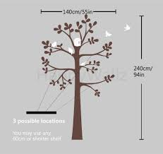 aliexpress com buy baby nursery tree wall sticker tree wall