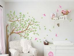 Tree Wall Decals Nursery by Blowing Corner Tree Birds Wall Decals Nursery Kids Baby Decor Arts